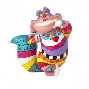 Disney Britto Cheshire Cat Standing Mini Figurine