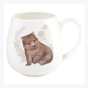 Little Aussie Friends Wombat Hug Mug