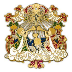 Adornment 3D Ornament Angels And Doves