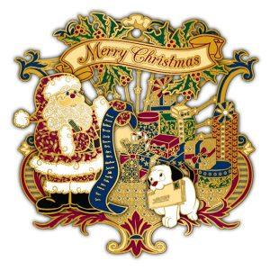 Adornment 3D Ornament Santas List