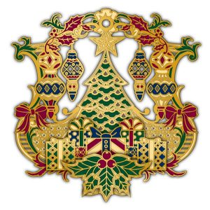 Adornment 3D Ornament Xmas Tree