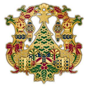 Adornment 3D Ornament Xmas Tree