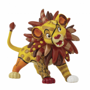 Disney Britto Simba Mini Figurine