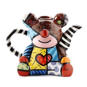 Romero Britto Teddy Bear Teapot