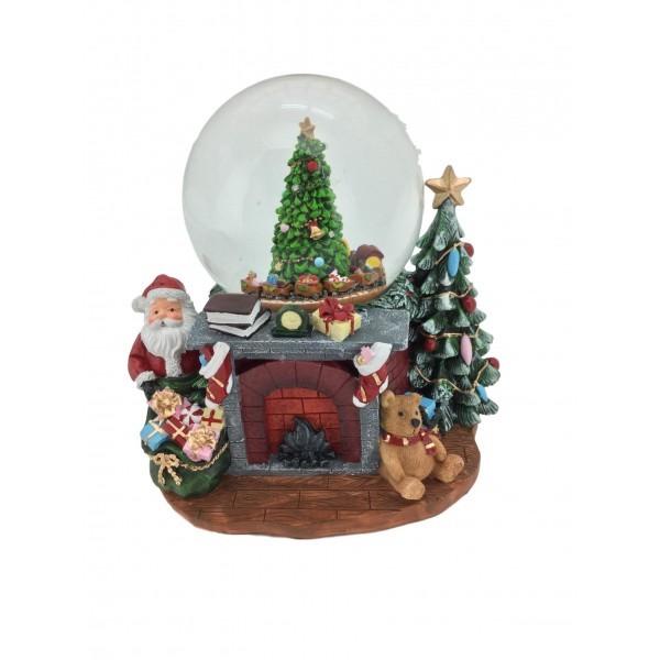 Musical Christmas Train Snowball
