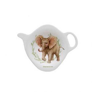 Wild Baby Animals Elephant Teabag Holder