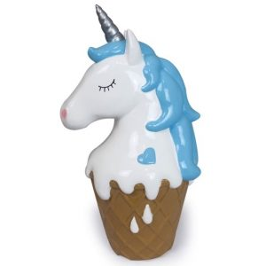 Unicorn Cone Blue Money Box