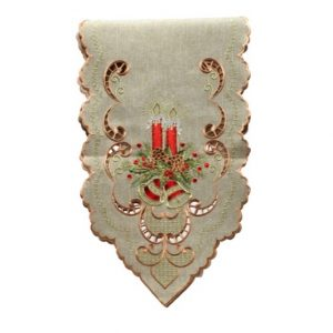 Beige Bells Table Runner
