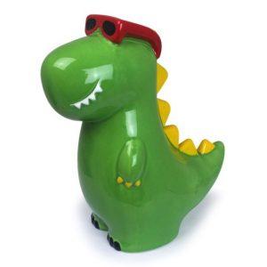 Dinosaur Money Box Green
