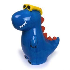 Dinosaur Money Box Blue