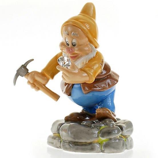 English Ladies Diamond Mine Happy Figurine