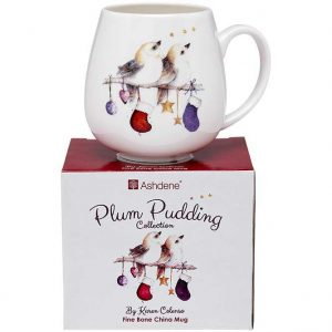 Ashdene Plum Pudding Birdies Mug