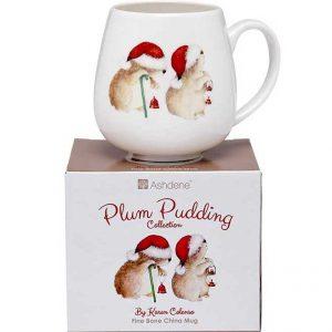 Ashdene Plum Pudding Wombats Mug