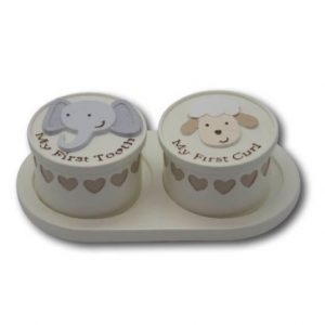 Noah's Ark First Curl And Tooth Set