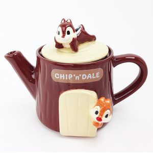 Chip N Dale Teapot Disney
