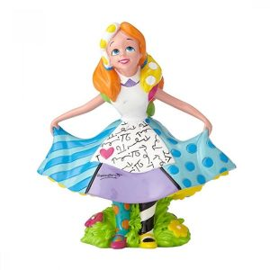 Disney Britto Alice In Wonderland Mini Figurine