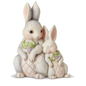 Jim Shore Forever My Honey Bunny Figurine