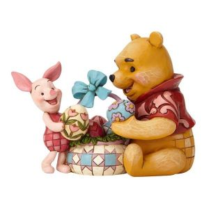 Jim Shore Disney Traditions Pooh and Piglet Easter