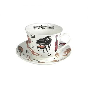 Roy Kirkham Concert Cup And Saucer