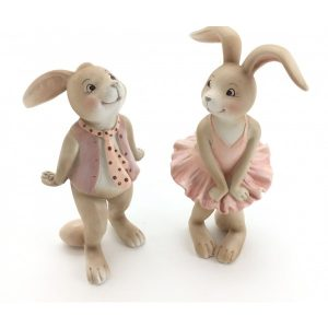 Cutie Rabbit Figurines Set