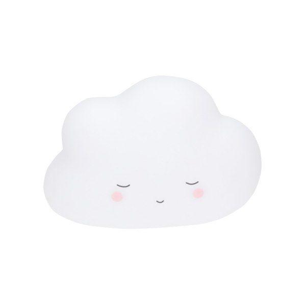 Little Dreams Cloud White LED Night Light