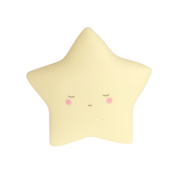 Little Dreams Star Baby Yellow LED Night Light