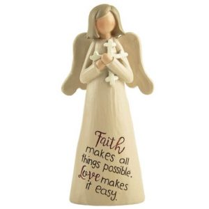 Angelic Blessings Figurine Faith And Love