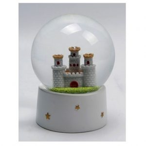 Castle Waterball Snow Globe