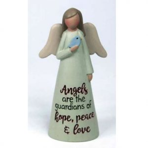 Angelic Blessings Figurine Angels Are Guardians