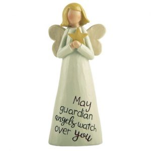 Angelic Blessings Figurine Guardian Angel