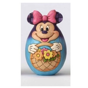 Jim Shore Disney Traditions Character Egg Minnie Mouse