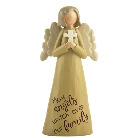 Angelic Blessings Figurine Family