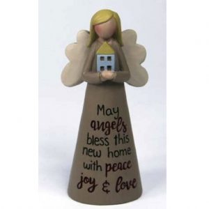 Angelic Blessing Figurine Bless New Home