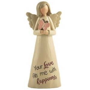 Angelic Blessings Figurine Happiness