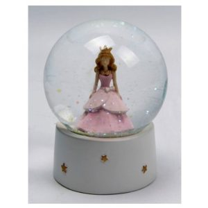 Princess Waterball Snow Globe