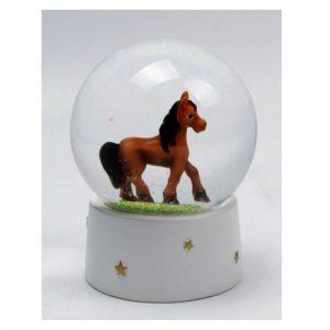 Horse Waterball Snow Globe