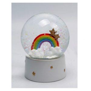 Rainbow Waterball Snow Globe