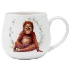 Wild Baby Animals Orangutan Snuggle Mug