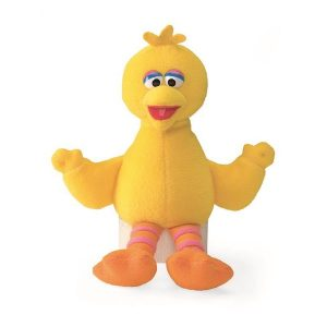 Sesame St Big Bird Mini Beanie Plush