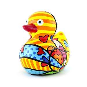 Romero Britto Duck New Day
