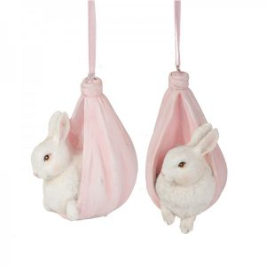 Bunny Newborn Ornaments