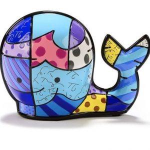 Romero Britto Brendans Whale Figurine