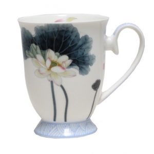 Lotus Flower Pedestal Mug