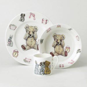 Roy Kirkham Teddy Time Gift Set Pink