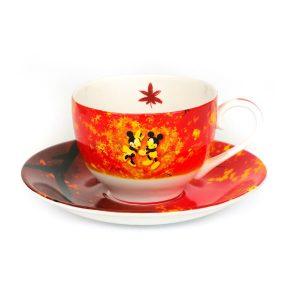 Mickey And Minnie Four Season Tea Set Autumn