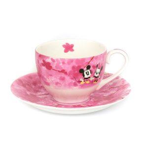 Mickey And Minnie Four Seasons Tea Set Spring