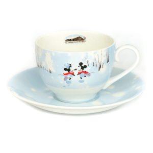 Mickey And Minnie Four Season Tea Set Winter