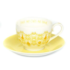 English Ladies Belle Story Cup And Saucer