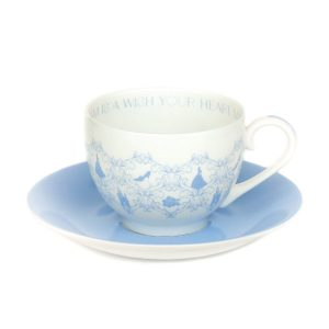 English Ladies Cinderella Story Cup And Saucer