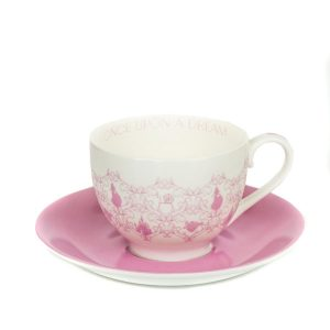 English Ladies Sleeping Beauty Story Cup And Saucer